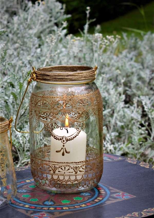 Wanderlust Henna Garden Lantern