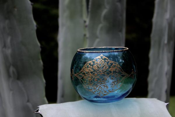 Shalimar candle holder