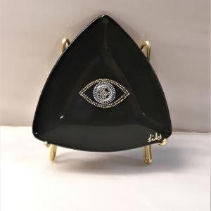 Amulet eye glass plate