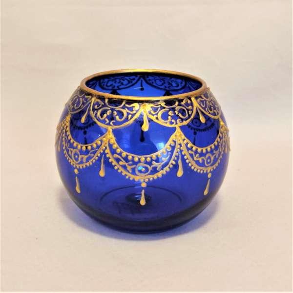 Cobalt blue garland