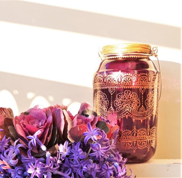 Purple & Copper