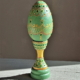 light green egg with stand