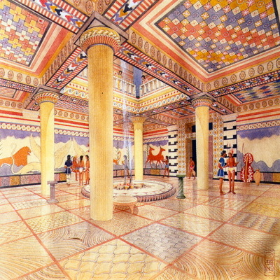 Mycynae - the palace