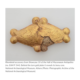 Rhomboid gold plated button