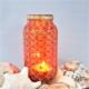 Circles and lines orange lantern