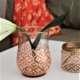 orange Alhambra bell shape vase