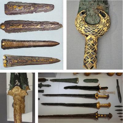 Myceanean swords - NAM Athens