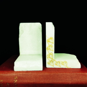 Naxos white bookends