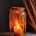 Amber large glass