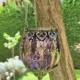 Purple hanging lanterns