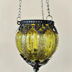 Yellow hanging lantern