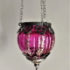 Magenta hanging lantern